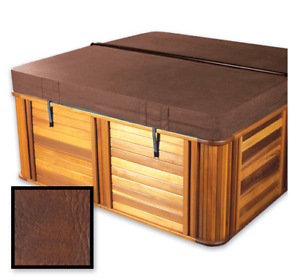 """Hot Tub Cover - Brown 89 x 89"""""""