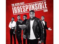 2x Kevin Hart The Irresponsible Tour Tickets Glasgow