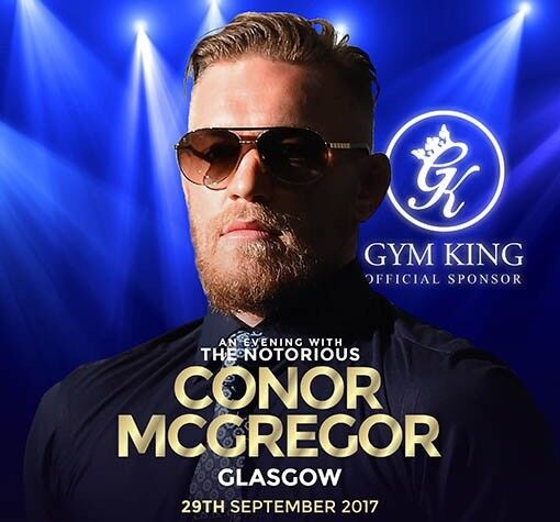 An evening with Conor McGregor