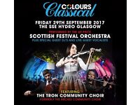 Colours Classical Tickets X 2