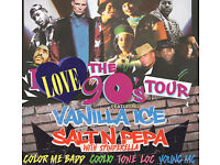 2 tickets for I love the 90s tour