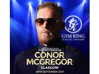 VIP Conor McGregor tickets - An evening with Conor McGregor Sec Glasgow