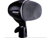Shure PG52‑XLR Microphone ‑ Silver/Matte Black
