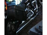 Kawasaki vn exhaust BIG AND NASTY make