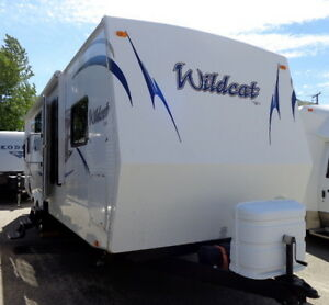 WOW! HARD TO FIND 2010 WILDCAT 28T--WINTER PACK