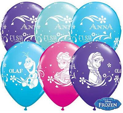 en Luftballons 5 Stück   Party Deko Prinzessin Geburtstag   (Prinzessin Party Geburtstag)