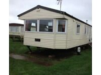 6-8 berth static caravan for sale