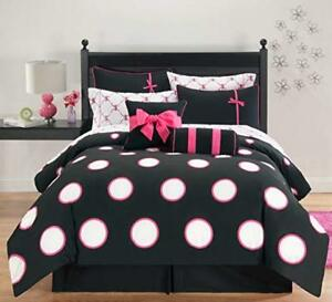 8Pc Sophie Comforter Set by VCNY - Gently Used