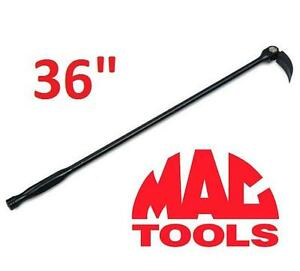 "NEW* MAC TOOLS INDEXABLE PRY BAR Metal Comfort-Handle Indexable Pry Bar - 36"" 106632862"