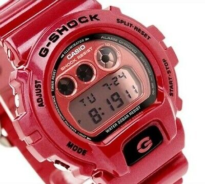 Genuine Casio G-Shock Men's Rare Red Metallic Watch Digital Limited Edition 200M