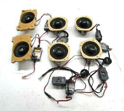 """2006-2008 BMW 750Li E66 Door Deck Lid Memphis 4"""" Speakers MCX4 MC42  Set of 6"""