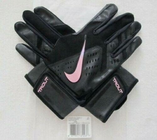 Nike Trout Force Edge Batting Gloves Black/Iridescent Men