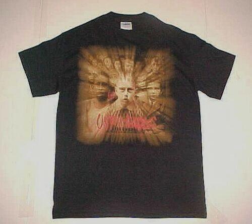 Korn Untouchables World Tour 2002 Metal Band Adult Unisex Black Red T-shirt M