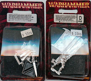 TWO EMPIRE WARHAMMER Limited Edition- SEALED BLISTERS