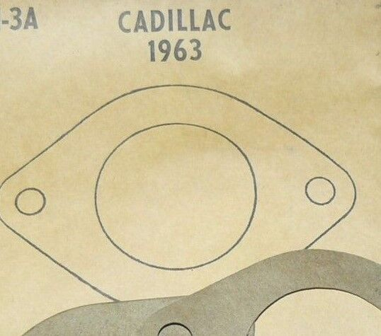 1963 Cadillac Water Outlet Gasket; McCORD # 102
