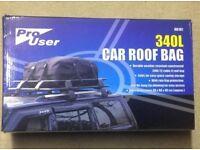 Universal car roof bag 340L NOT roof box