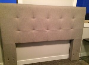 Brand New Tufted Queen Headboard-showhome sale