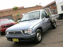 2001 Toyota Hilux RZN149R Blue 5 Speed Manual Cab Chassis Belmore Canterbury Area Preview
