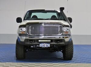 2003 Ford F250 RN XLT (4x4) White 4 Speed Automatic Jandakot Cockburn Area Preview
