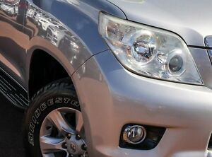 2010 Toyota Landcruiser Prado KDJ150R GXL Silver 5 Speed Sports Automatic Wagon Wangara Wanneroo Area Preview