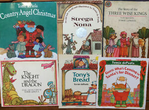 Picture Books by TOMIE DEPAOLA $2 each or all 6 for $10