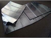 Silver screens for Ford Transit Van or Motorhome