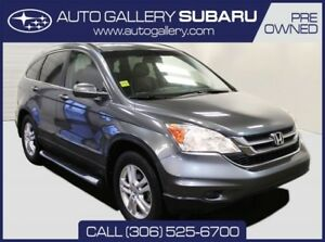 2010 Honda CR-V EX-L | LTHR | TOUCHSCREEN W/ NAV | SUNROOF | EVE