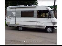 Wanted hymer motorhome for top cash prices