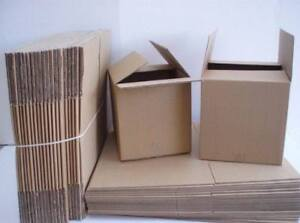 Brand New Flat Cardboard Boxes for Moving