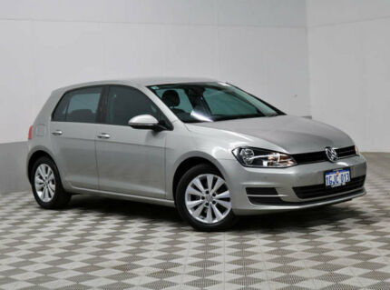 2014 Volkswagen Golf AU MY15 90 TSI Comfortline Grey 7 Speed Auto Direct Shift Hatchback