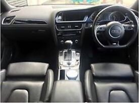 AUDI A4 S LINE BLACK EDITION, TOP OF THE RANGE £13,000 ONO OR P/X