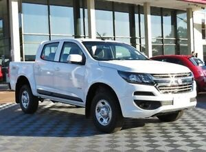 2017 Holden Colorado RG MY17 LS Pickup Crew Cab White 6 Speed Manual Utility Alfred Cove Melville Area Preview