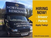 Northants Removals Ltd - Drivers & Porters needed