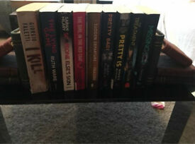 Bundle of books thrillers