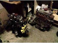 Mini/metro 1275cc engine + gearbox.