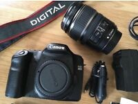 Canon 40d with 17-85mm lens