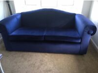 Royal Blue Sofa / Couch