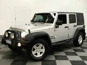 2010 Jeep Wrangler JK MY2010 Unlimited Sport Silver 6 Speed Manual Softtop Edgewater Joondalup Area Preview
