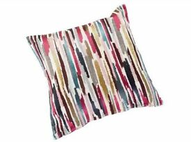 Cushion Cover Pair, Multi Coloured