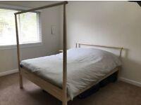 Ikea double gjora bed