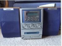 AIWA Hifi system - CD and radio