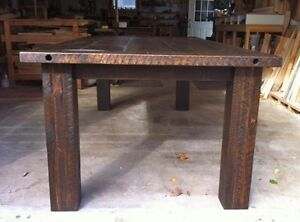 NEW RUSTIC HARVEST TABLES FOR SALE