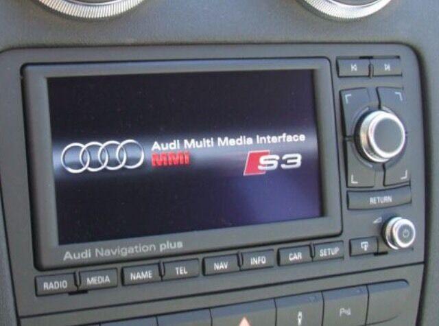 Audi A Stereo RNS E Sat Nav Bluetooth DAB In Exeter Devon - Audi rns e