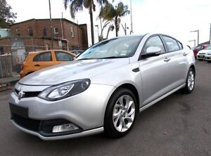 2013 MG MG6 IP2X GT Luxury Silver 5 Speed Manual Hatchback Belmore Canterbury Area Preview