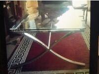 Trendy Glass Coffee Table