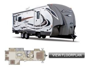 2014 cougar high country travel trailer for sale