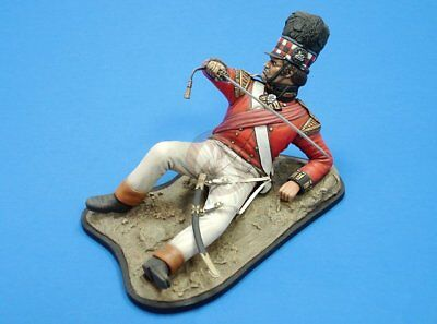 Verlinden 120mm 1/16 Cameron Highlander Officer w/Base Napoleonic era 2392