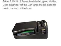 Car laptop / storage car organiser