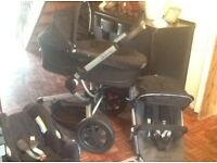 Quinny Buzz Travel System with Extras/Spares