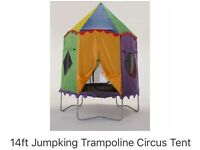 Trampoline tent 14ft sun shade for jumpking